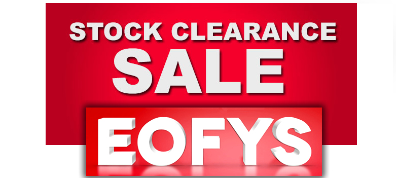 EOFYS - end of financial year sale