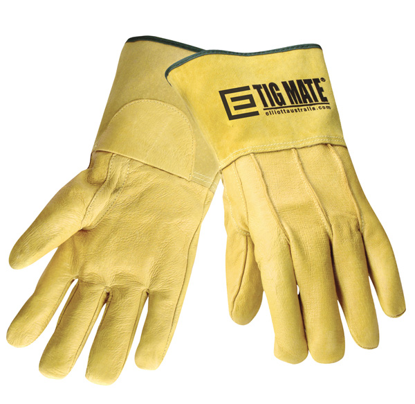 Tigmate Tig Welding Gloves Medium Size With Short Cuff