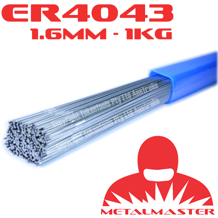 Aluminium Tig Filler Wire Rods ER 4043 1.6mm x 1Kg | Tokentools ...