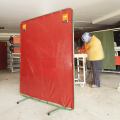 Arcsafe Welding Screen Red 1800 x 1800 front
