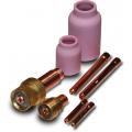 Gas lens kit for tig torch