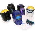 Auto darkening helmet face shield safety glasses oxy goggles tig mig arc plasma protective equipment