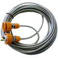 Minesafe screened 240V 15A Welding extension Lead