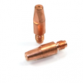 3 Pack - MIG Welding Contact Tip 1.2mm M6 x 28mm x 8mm ref 140.00379