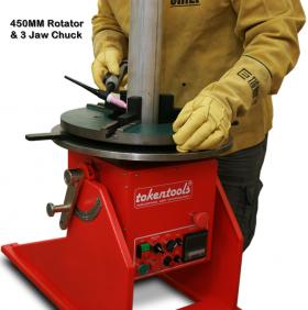positioner welding machine instructions