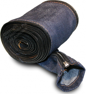 welding torch cable cover denim with zipper
