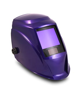 automatically darkening electronic welding helmet