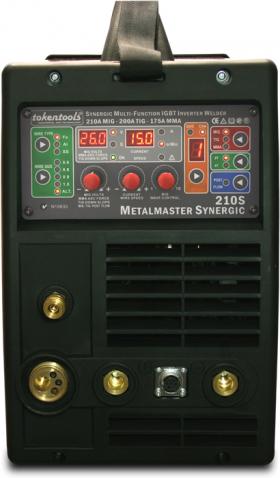 Synergic Mig-Welder-Metalmaster-210S-Front