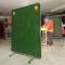 Arcsafe Welding Screen Green 1800 x 1800 front
