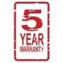 5 y warranty