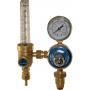 argon welding regulator and flow meter