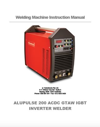 Alupulse Inverter Welder Manual